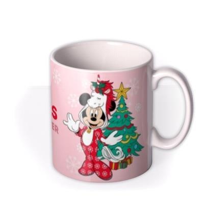Disney Minnie Mouse Special Sister Christmas Mug