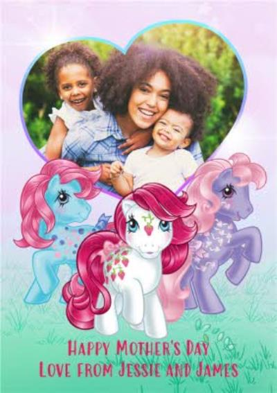 Mother's Day Card - My Little Pony - from the kids - photo upload card
