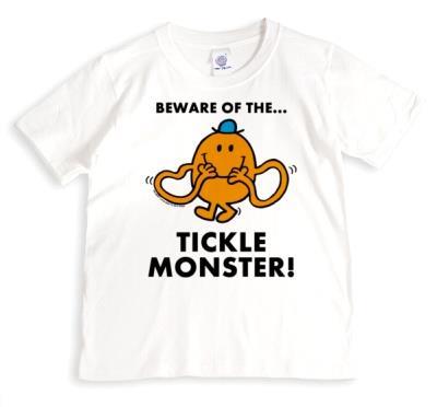 Mr Men Mr Tickle Personalised T-Shirt