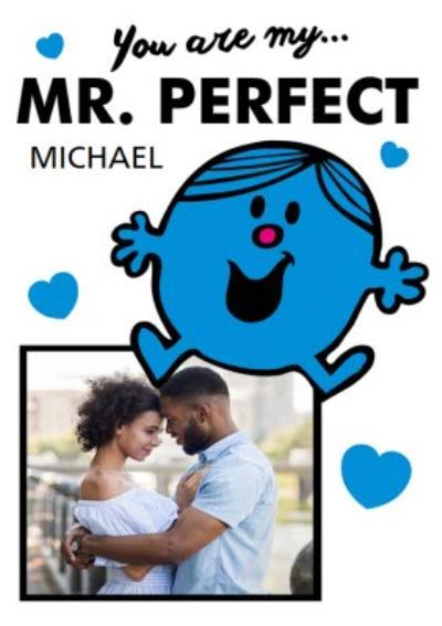 Mr Perfect Photo Valentine's Day Card