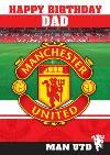 Manchester United Birthday Card - Dad