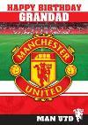 Manchester United Birthday Card - Grandad