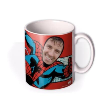 Marvel Comics Spiderman Photo Upload Mug