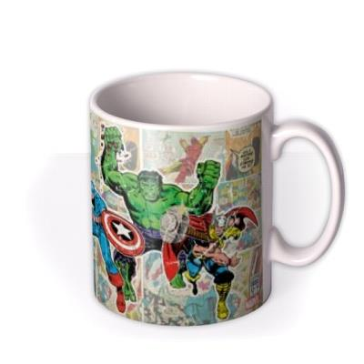 Marvel The Avengers Comic Book Photo Upload Mug