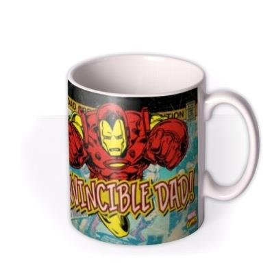 Marvel Comics Iron Man Father's Day Photo Upload Mug