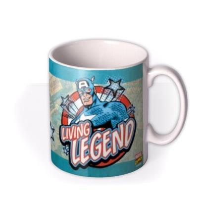 Marvel Comics Captain America Father's Day Photo Upload Mug