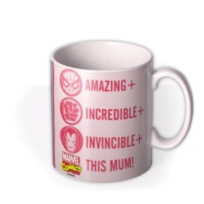 Mother's Day Mug - marvel comics - photo upload mug