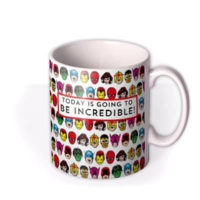 Marvel Comics Superheroes Mug