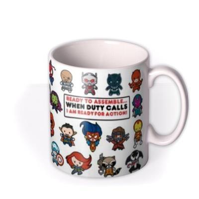Marvel Ready To Assemble Mug