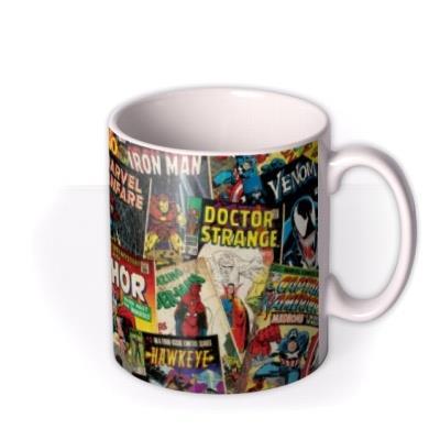 Marvel Comics Montage Mug