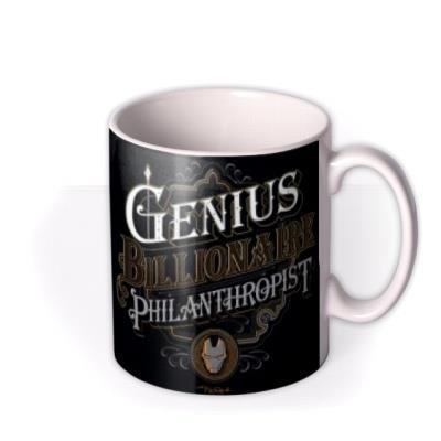 Marvel Iron Man Genius Billionaire Philanthropist Mug