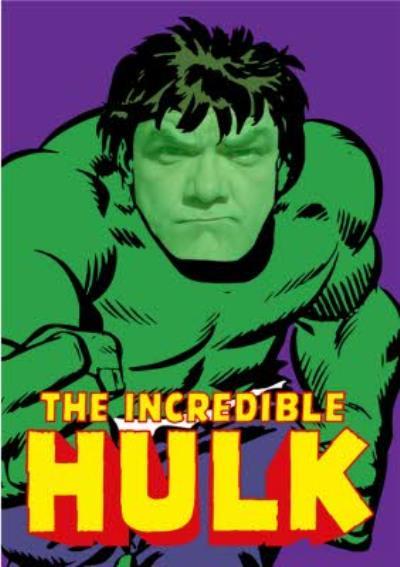 Marvel Incredible Hulk Personalised Card