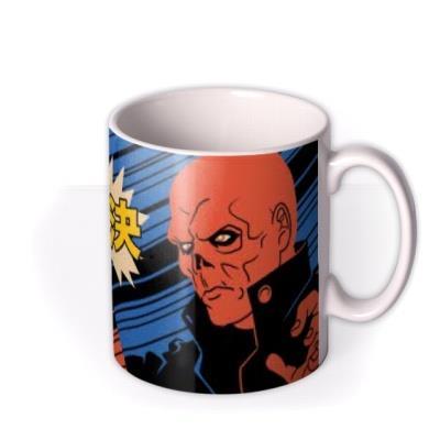 Marvel Avengers Captain America And Red Skull Mug
