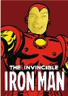 Marvel The Invincible Iron Man Face Upload Card