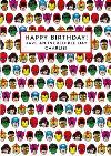 Marvel Comics Characters Birthday Card