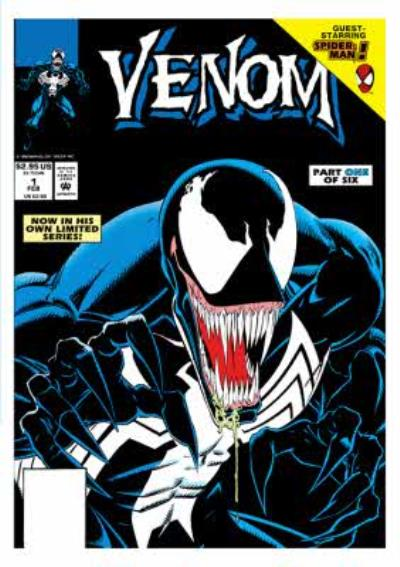 Marvel Comics Venom Birthday Card