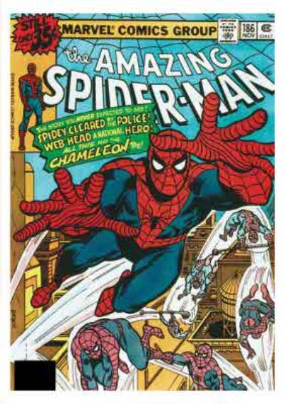 Marvel Comics Spider-man Birthday Card