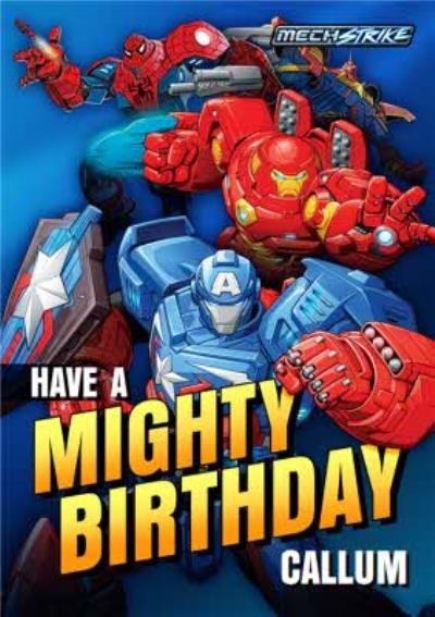 Have A Mighty Birthday Card