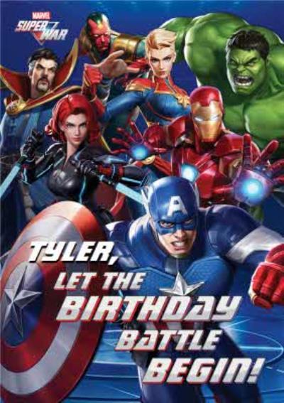 Marvel Super War Let the Birthday Battle Begin