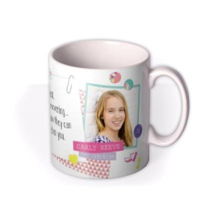 Tatty Teddy Taurus Zodiac Personalised Mug