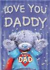 Tatty Teddy Super Dad Father's Day Card