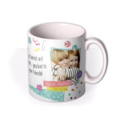 Tatty Teddy Scorpio Zodiac Personalised Mug