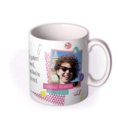 Tatty Teddy Capricorn Zodiac Personalised Mug