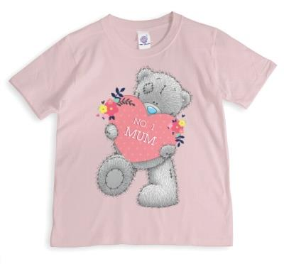 Mother's Day Tatty Teddy No.1 Mum Personalised T-shirt