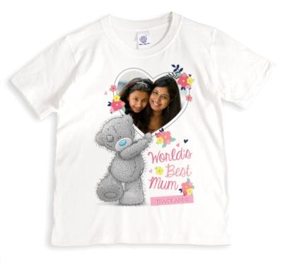 Mother's Day Tatty Teddy World's Best Photo Upload T-shirt