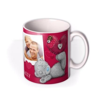 Valentine's Day Tatty Teddy Photo Upload Mug