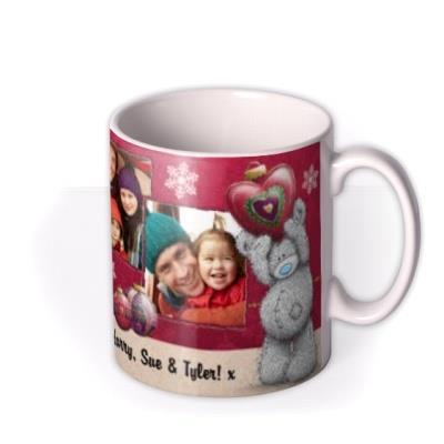 Merry Christmas Tatty Teddy Decorations Photo Upload Mug