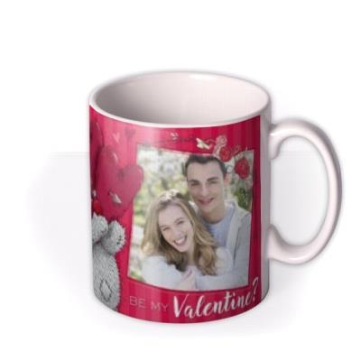 Valentine's Day Tatty Teddy Be My Photo Upload Mug