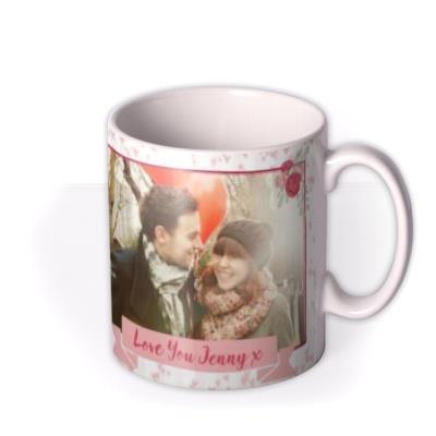Valentine's Day Tatty Teddy Roses Photo Upload Mug