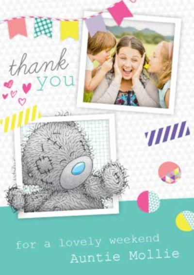 Tatty Teddy Instant Photo Personalised Photo Upload Thank You Card