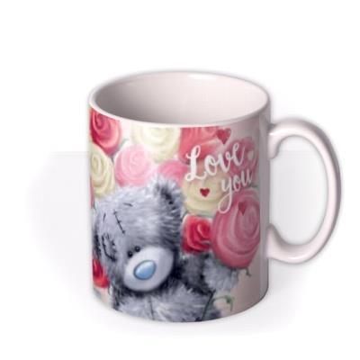 Tatty Teddy Colourful Roses I Love You Photo Mug