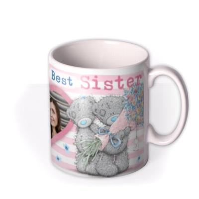 Me To You Tattty Teddy Hearts Photo Upload Mug For Sister
