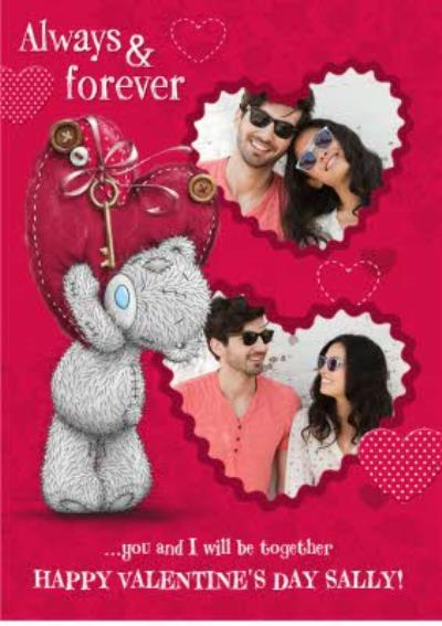 Me To You Tatty Teddy Always And Forever Happy Valentines Day Card
