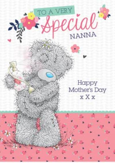 Mother's Day Card - Tatty Teddy Cute Card - Special Nanna