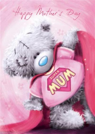 Mother's Day Card - Tatty Teddy - Super Mum