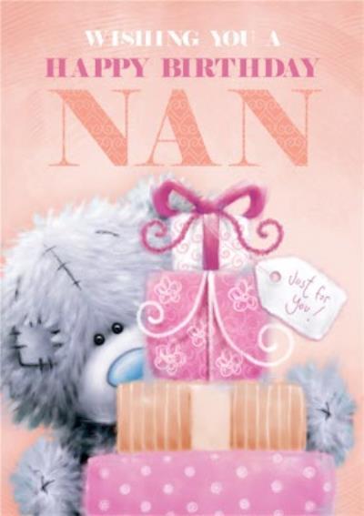 Tatty Teddy Happy Birthday Nan Card