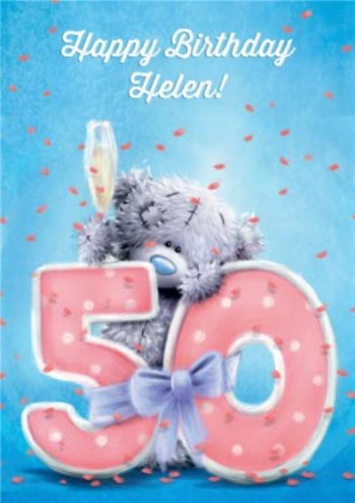 Tatty Teddy - 50th Birthday Card