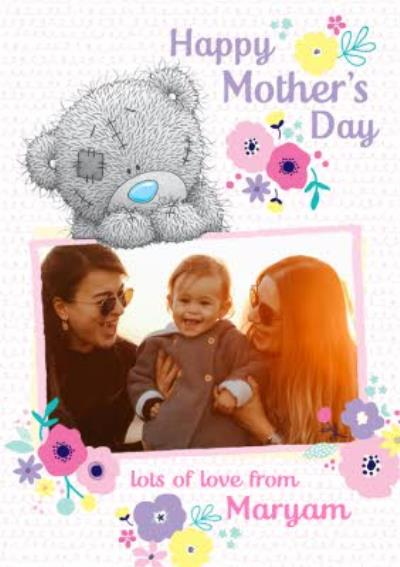 Mother's Day Card Tatty Teddy Photo Upload Card