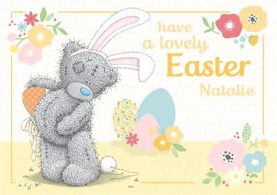 Me To You Tatty Teddy Have A Lovely Easter Card