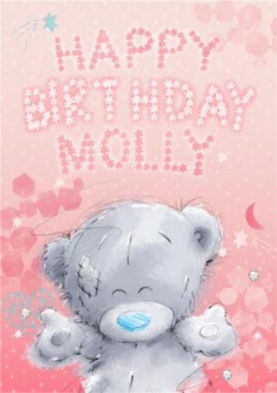 Me To You Tatty Teddy Happy Birthday Card
