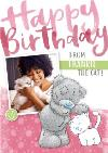 Me To You Tatty Teddy Happy Birthday From The Cat Card