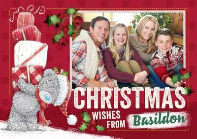 Me To You Tatty Teddy From The Family Photo Upload Christmas Card