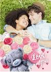 Carte Blanche Love You Photo Upload Card
