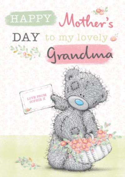 Mother's Day Card - Grandma - Tatty Teddy