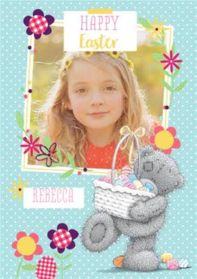 Easter card - photo upload card - tatty teddy - me to you