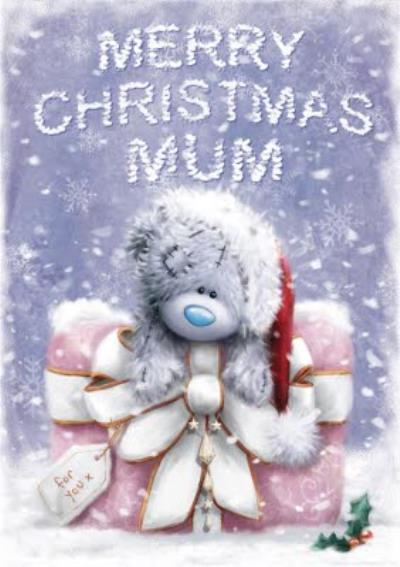 Me To You Tatty Teddy Christmas Greetings Card